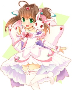 Rating: Safe Score: 1 Tags: 1girl ahoge arm_warmers blush boots bow brown_hair bunny dress green_eyes hair_bow hair_intakes hair_ornament hairpin jewellery jewelpet jewelpet_twinkle necklace ratryu ruby_(jewelpet) sakura_akari short_hair side_ponytail smile standing_on_one_leg star_hair_ornament thigh_boots thighhighs white_dress white_legwear User: DMSchmidt