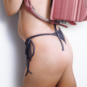Rating: Explicit Score: 9 Tags: 1girl 3dcg ass backpack bag bikini close-up marq_liza pose realistic shadow side-tie_bikini standing swimsuit User: fantasy-lover