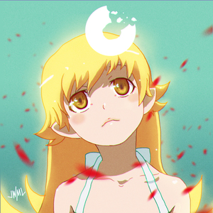 Rating: Safe Score: 1 Tags: 1girl bakemonogatari blush_stickers doughnut dress food justin_leyva_(steamy_tomato) long_hair monogatari_(series) nisemonogatari oshino_shinobu pointy_ears solo white_dress yellow_eyes User: Domestic_Importer