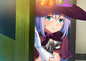 Rating: Safe Score: 0 Tags: 1girl aqua_eyes bangs blue_hair blush bow bowtie cape capelet checkered dacchi elbow_gloves eyebrows_visible_through_hair gloves gochuumon_wa_usagi_desu_ka? hair_between_eyes halloween hat head_tilt highres kafuu_chino long_hair looking_at_viewer open_door parted_lips plant pumpkin purple_capelet purple_hat solo vines white_gloves witch witch_hat User: DMSchmidt