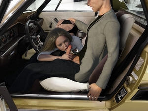 Rating: Explicit Score: 38 Tags: 1boy 1girl 3dcg age_difference ass ass_grab blonde_hair car car_interior fellatio highres kneeling licking oral penis penis_awe photorealistic sitting sofom steering_wheel User: fantasy-lover