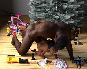 Rating: Explicit Score: 32 Tags: 10s 1boy 1girl 2017 3dcg age_difference brown_skin butt_plug christmas_tree dark_skinned_male hetero highres imminent_sex original pacifier penis photorealistic present sex sex_toy short_hair slimdog toddlercon uncensored wooden_floor User: Domestic_Importer