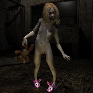Rating: Questionable Score: 7 Tags: 1girl 3dcg flat_chest halloween highres photorealistic rockwelljones self_upload zombie User: RockwellJones