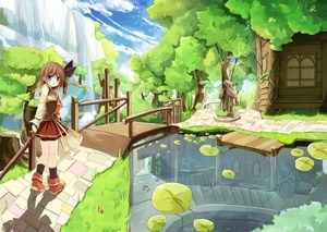 Rating: Safe Score: 0 Tags: 1girl blue_eyes brown_hair casual hair_ribbon looking_at_viewer lucena_winter original pleated_skirt reflection ribbon river scenery side_ponytail skirt solo tagme walking water waterfall yuuhagi_(amaretto-no-natsu) User: DMSchmidt