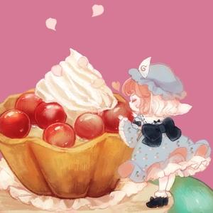 Rating: Safe Score: 0 Tags: 1girl cake cherry closed_eyes dessert food fruit hat japanese_clothes minigirl pastry pink_hair ribbon saigyouji_yuyuko short_hair smile solo touhou_project triangular_headpiece wide_sleeves yujup User: ShizKoE2