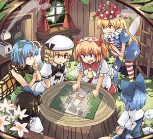 Rating: Safe Score: 2 Tags: 6+girls american_flag_dress american_flag_legwear antennae black_hair blonde_hair blue_dress blue_eyes blue_hair bow butterfly_wings chestnut_mouth cirno clownpiece cup curtains dress drill_hair eternity_larva fairy fairy_wings flower frying_pan green_dress hair_bow hair_ornament hat houshiruri ice ice_wings jester_cap ladder leaf leaf_hair_ornament leaf_on_head luna_child map multiple_girls neck_ruff red_eyes star_sapphire sunny_milk tagme toaster touhou_project tree_stump white_dress white_headwear window wings wooden_wall yellow_eyes yellow_wings User: DMSchmidt