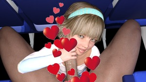 Rating: Explicit Score: 8 Tags: 1boy 1girl 3dcg age_difference censored clothed_female_nude_male flat_chest hairband handjob heart holding_penis kneeling looking_at_viewer looking_up nude penis photorealistic pov shinydevon sitting smile User: fantasy-lover