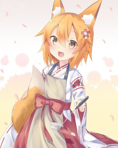 Rating: Safe Score: 0 Tags: 1girl :d animal_ear_fluff animal_ears apron bangs blush brown_apron brown_eyes eyebrows_visible_through_hair fang flower fox_ fox_ears fox_girl fox_tail hair_between_eyes hair_flower hair_ornament highres japanese_clothes kimono ladle long_sleeves looking_at_viewer open_mouth orange_hair red_flower red_hair ribbon-trimmed_sleeves ribbon_trim senko_(sewayaki_kitsune_no_senko-san) sewayaki_kitsune_no_senko-san smile solo tail tail_raised usagimiko white_kimono wide_sleeves User: Domestic_Importer