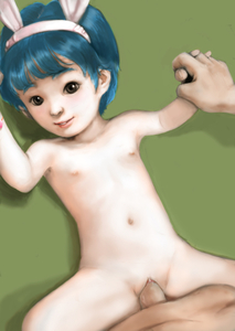 Rating: Explicit Score: 9 Tags: 1boy 1girl age_difference animal_ears blue_hair brown_eyes bunny_ears clitoral_hood clitoris fake_animal_ears flat_chest hairband holding_hands illidan looking_at_viewer navel nipples nude pussy realistic sex simple_background uncensored vaginal User: Software