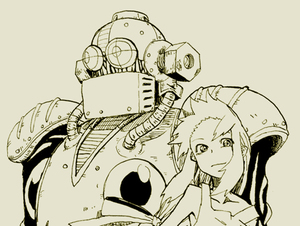 Rating: Safe Score: 0 Tags: 1girl android capcom koto_(coto) long_hair monochrome rightot robot rockman rockman_(classic) roll smile User: DMSchmidt