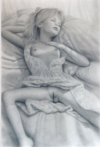Rating: Explicit Score: 25 Tags: 1girl bottomless brian_babinski clitoral_hood closed_eyes legs_apart on_bed pillow pussy sleeping socks User: mythified