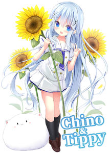Rating: Safe Score: 0 Tags: 1girl :d angora_rabbit animal bangs black_legwear blue_eyes blue_hair blue_neckwear blush brown_footwear bunny character_name eyebrows_visible_through_hair flower gochuumon_wa_usagi_desu_ka? hair_between_eyes hair_ornament hands_up highres holding holding_flower kafuu_chino kafuu_chino's_school_uniform kneehighs kouda_suzu loafers neckerchief open_mouth pleated_skirt puffy_short_sleeves puffy_sleeves school_uniform shirt shoes short_sleeves simple_background skirt smile standing sunflower tippy v white_background white_shirt white_skirt x_hair_ornament yellow_flower User: DMSchmidt
