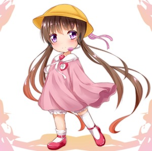 Rating: Safe Score: 1 Tags: 1girl absurdly_long_hair ankle_lace-up bangs bloomers blush brown_hair closed_mouth cross-laced_footwear eyebrows_visible_through_hair frills hair_between_eyes hands_in_sleeves hat headset heart highres kindergarten_uniform long_hair long_sleeves looking_at_viewer name_tag pink_footwear pink_ribbon pink_shirt purple_eyes ribbon rody_(hayama_yuu) school_hat shirt smile solo standing standing_on_one_leg thighhighs thighhighs_pull tsukuyomi_ai twin_tails underwear very_long_hair voiceroid white_background white_bloomers white_legwear yellow_hat User: DMSchmidt