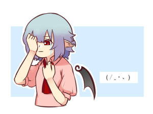 Rating: Safe Score: 0 Tags: 1girl bangs bat_wings blue_background blue_hair border breasts covering_one_eye cropped_torso crying crying_with_eyes_open dress eyebrows_visible_through_hair hands_up nail_polish no_hat no_headwear outline outside_border pink_dress pointy_ears puffy_short_sleeves puffy_sleeves red_eyes red_nails red_neckwear remilia_scarlet short_hair short_sleeves simple_background small_breasts solo tears touhou_project upper_body white_border white_outline wing_collar wings yoruny User: DMSchmidt
