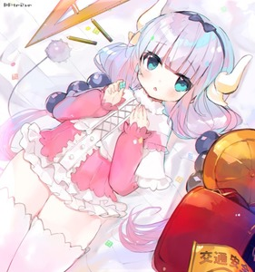Rating: Safe Score: 0 Tags: 1girl :o artist_name atsumi_jun backpack bag bangs beads black_bow black_hairband blouse blue_eyes blunt_bangs blush bow buttons capelet center_frills cowboy_shot cross-laced_clothes dragon_girl dragon_horns dress eyebrows_visible_through_hair frilled_capelet frilled_skirt frills fur_trim gothic_lolita gradient gradient_hair hair_beads hair_bow hair_ornament hairband hands_up hat horns kanna_kamui kobayashi-san_chi_no_maidragon lavender_hair legs_together lolita_fashion long_hair long_sleeves looking_at_viewer low_twintails microdress multicoloured_hair open_mouth pencil purple_hair randoseru school_bag school_hat skirt solo standing tail thighhighs twin_tails very_long_hair white_legwear yellow_hat zettai_ryouiki User: Domestic_Importer