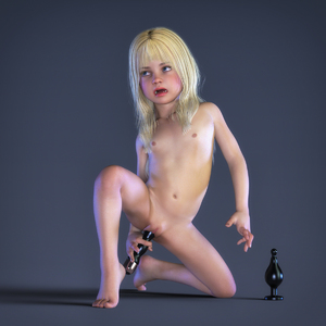 Rating: Explicit Score: 22 Tags: 1girl 3dcg bangs barefoot blonde_hair blue_eyes blunt_bangs bouba butt_plug clitoris dildo flat_chest grimace long_hair navel nipples nude object_insertion open_mouth photorealistic pussy sex_toy vaginal vaginal_object_insertion User: fantasy-lover