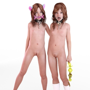 Rating: Explicit Score: 30 Tags: 2girls 3dcg animal_ears bdsm bell bell_collar collar flat_chest freckles highres jewellery looking_at_viewer multiple_girls necklace nipples nude open_mouth photorealistic pussy red_hair ribbon scat sex_toys siblings smile socks sxxthk_(artist) twin_tails twins uncensored User: blair0