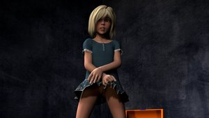Rating: Explicit Score: 13 Tags: 1girl 3d_custom_girl 3dcg blonde_hair clitoral_hood dress dress_lift freckles green_eyes highres looking_at_viewer necklace nopan photorealistic presenting pussy short_hair skirt snarkmaster solo uncensored User: Software