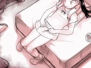 Rating: Questionable Score: 27 Tags: 1girl 3boys animated backpack bag black_hair bow crime_prevention_buzzer dppg flat_chest gif greyscale hitachi_magic_wand lifted_by_self long_hair looking_at_viewer lying monochrome multiple_boys on_back original pussy randoseru sex_toy short_sleeves skirt skirt_lift solo_focus twin_tails uncensored vibrator User: Domestic_Importer