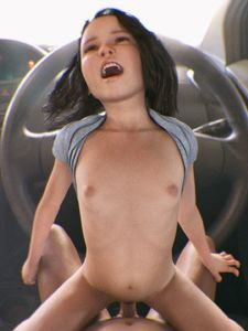 Rating: Explicit Score: 60 Tags: 1boy 1girl 3dcg age_difference car cowgirl_position flat_chest navel nipples open_mouth penis photorealistic steering_wheel teeth twitchster vaginal User: fantasy-lover