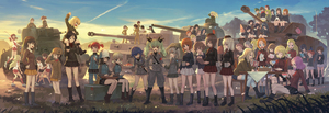 Rating: Safe Score: 0 Tags: 6+girls absurdres akaboshi_koume aki_(girls_und_panzer) akiyama_yukari alisa_(girls_und_panzer) all_fours anchovy anglerfish angry ankle_boots anzio_military_uniform assam bangs bare_legs basket belt beret black_boots black_bow black_eyes black_hair black_hat black_jacket black_legwear black_necktie black_ribbon black_shirt black_shorts black_skirt blonde_hair blue_boots blue_eyes blue_hair blue_hat blue_jacket blue_pants blue_shorts blue_skirt blunt_bangs bob_cut boots bow braid bread breasts brown_boots brown_eyes brown_hair brown_jacket brown_skin butterfly caesar_(girls_und_panzer) carpaccio character_request chi-hatan_military_uniform clara_(girls_und_panzer) clipboard closed_eyes closed_mouth cloud cloudy_sky coca-cola coke-bottle_glasses cross-laced_footwear cup darjeeling day denim denim_shorts dress_shirt dusk eating elbow_pads emblem erwin_(girls_und_panzer) everyone eyepatch fang food forest fruit fukuda_(girls_und_panzer) garrison_cap girls_und_panzer glasses gloves gotou_moyoko grass green_eyes green_hair green_hat green_jacket green_shirt grey_eyes grey_hair grey_jacket grey_pants grey_skirt ground_vehicle gym_shirt gym_uniform hair_bow hair_intakes hair_over_shoulder hair_ribbon hair_tie hairband hand_on_hip hands_on_hips hat headband helmet highres holding hoshino_(girls_und_panzer) index_finger_raised instrument isobe_noriko isuzu_hana itsumi_erika jacket japanese_tankery_league_(emblem) jumping jumpsuit kadotani_anzu kantele katyusha kawanishi_shinobu kawashima_momo kay_(girls_und_panzer) keizoku_military_uniform knee_boots knee_pads kneehighs kneeling knife kondou_taeko konparu_nozomi koyama_yuzu kuromorimine_military_uniform ladic light_brown_hair light_smile long_hair long_sleeves looking_at_another m4_sherman maruyama_saki mechanic medium_breasts messy_hair mika_(girls_und_panzer) mikko_(girls_und_panzer) military military_hat military_jacket military_uniform military_vehicle miniskirt momogaa monocle motor_vehicle multiple_girls nakajima_(girls_und_panzer) naomi_(girls_und_panzer) nature neck_ribbon necktie nekonyaa nishi_kinuyo nishizumi_maho nishizumi_miho no_socks nonna one_eye_closed onigiri ooarai_(emblem) ooarai_military_uniform oono_aya open_clothes open_jacket open_mouth orange_eyes orange_hair orange_pekoe oryou_(girls_und_panzer) outdoors pants pants_rolled_up pants_under_skirt panzerkampfwagen_iv parted_bangs pasta peach peaked_cap pen pencil_skirt pepperoni_(girls_und_panzer) pink_hair piyotan plate pleated_skirt pointing pointy_hair potato pravda_(emblem) pravda_military_uniform raglan_sleeves red_eyes red_hair red_headband red_jacket red_legwear red_scarf red_shirt red_shorts red_skirt reizei_mako ribbon rosehip round_glasses rukuriri saemonza sakaguchi_karina salute sasaki_akebi saucer saunders_(emblem) saunders_military_uniform sawa_azusa scarf school_uniform selection_university_(emblem) selection_university_military_uniform semi-rimless_glasses shimada_arisu shirt shirt_pull shoes short_hair short_jumpsuit short_ponytail short_shorts short_sleeves short_twin_tails shorts shoulder_belt shouting side_braid side_ponytail silver_hair single_braid sitting skirt sky sleeveless sleeveless_shirt smile sneakers socks soda_cup sono_midoriko spats sportswear st_gloriana's_military_uniform standing star suzuki_(girls_und_panzer) sweatdrop swept_bangs t-34 table tablecloth takebe_saori tank tank_top teacup teapot thighhighs tied_hair tied_shirt tiger_i track_jacket track_pants tree tsuchiya_(girls_und_panzer) turtleneck twin_braids twin_tails under-rim_glasses uniform utsugi_yuuki very_short_hair volleyball volleyball_uniform white_gloves white_hairband white_legwear white_shirt white_shoes white_skirt wristband yamagou_ayumi yellow_skirt User: Domestic_Importer