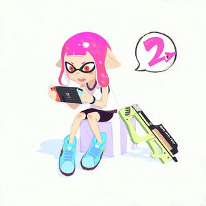 Rating: Safe Score: 0 Tags: 1girl blush_stickers camisole domino_mask full_body gun handheld_game_console holding ilya_kuvshinov inkling mask nintendo_switch open_mouth pink_hair playing_games pointy_ears red_eyes short_hair shorts simple_background sitting sleeveless solo spats splatoon splatoon_2 squid tentacle_hair weapon User: DMSchmidt