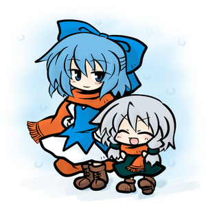 Rating: Safe Score: 0 Tags: >_d 2girls :d ^_^ blue_hair chibi cirno cirno-nee closed_eyes izayoi_sakuya light_smile multiple_girls older open_mouth scarf short_hair silver_hair smile team_shanghai_alice touhou_project yanagi_(artist) yanagi_(nurikoboshi) younger User: DMSchmidt
