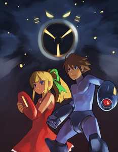 Rating: Safe Score: 0 Tags: 1boy 1girl airman artist_request capcom rockman rockman_(character) rockman_(classic) roll tagme User: DMSchmidt