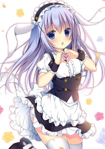 Rating: Safe Score: 1 Tags: 1girl :o alternate_costume animal_ears apron bangs black_shoes black_skirt blue_eyes blush breasts bunny_ears chestnut_mouth cowboy_shot eyebrows_visible_through_hair fleur_de_lapin_uniform floppy_ears flower frilled_apron frilled_cuffs frilled_shirt frilled_skirt frills gochuumon_wa_usagi_desu_ka? hair_between_eyes hair_ornament hairclip hands_together headdress heart heart_hands kafuu_chino light_blue_hair long_hair looking_at_viewer maid_headdress open_mouth petals shibainu_niki shirt shoes sidelocks skirt small_breasts solo standing standing_on_one_leg thighhighs underbust uniform waist_apron wasit_apron white_apron white_background white_legwear white_shirt wrist_cuffs x_hair_ornament zettai_ryouiki User: DMSchmidt