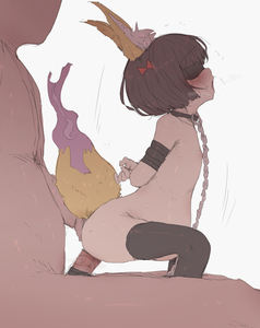 Rating: Explicit Score: 12 Tags: 1boy 1girl animal_ears arms_behind_back ass black_legwear blindfold blush bound bound_arms brown_hair censored chain collar fox_ears fox_tail hair_ornament hetero leash mdf_an mosaic_censoring nude open_mouth original pregnant sex short_hair simple_background tail thighhighs white_background User: DMSchmidt