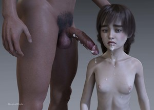 Rating: Explicit Score: 9 Tags: 1boy 1girl 3dcg after_sex age_difference cum cumdrip hand_on_another's_head kneeling long_hair nastynick navel nipples nude penis photorealistic pose pubic_hair sad standing testicles User: fantasy-lover