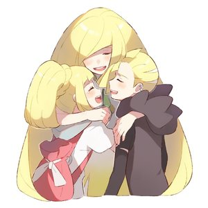 Rating: Safe Score: 0 Tags: 1boy 2girls backpack bag blonde_hair brother_and_sister closed_eyes gladio_(pokemon) hood hoodie hug lillie_(pokemon) long_hair long_sleeves lusamine_(pokemon) mother_and_daughter mother_and_son multiple_girls open_mouth pokemon pokemon_(anime) pokemon_(game) pokemon_sm pokemon_sm_(anime) ponytail shirt short_hair short_sleeves siblings simple_background tearing_up tears torn_clothes unadayoo00 white_background white_shirt User: Domestic_Importer