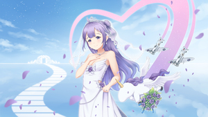 Rating: Safe Score: 1 Tags: 1girl aircraft airplane alicorn animal azur_lane bare_arms bare_shoulders blue_sky blurry blurry_foreground blush bouquet breasts bridal_veil cleavage closed_mouth cloud day depth_of_field dress fingernails flower flying hair_bun hand_on_own_chest hand_up head_tilt heart highres intelman jewellery long_hair medium_breasts necklace one_side_up outdoors petals purple_eyes purple_flower purple_hair purple_rose ring rose see-through side_bun sky smile solo strapless strapless_dress tiara unicorn_(azur_lane) veil very_long_hair wedding_band white_dress User: DMSchmidt
