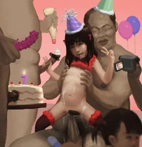 Rating: Explicit Score: 43 Tags: 2girls 3boys age_difference animated birthday birthday_cake camera candle censored clothes_lift condom cum cum_in_hair cum_on_body cumdrip flat_chest girl_on_top hat insertion legwear lingerie multiple_boys multiple_girls multiple_penises nipple_tweak nipples nude penis sang_(vcxzw) shirt_lift video webm User: Software