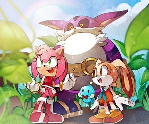 Rating: Safe Score: 0 Tags: 1boy 2girls amy_rose big_the_cat chao_(sonic) cheese_(sonic) cream_the_rabbit dress multiple_girls naoko_(juvenile) no_humans orange_dress pantsu plant rain red_dress smile sonic_the_hedgehog underwear upskirt wet white_pantsu User: Domestic_Importer