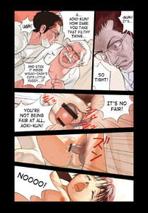 Rating: Explicit Score: 4 Tags: 1girl 2boys age_difference bed censored closed_eyes comic cum doctor ejaculation english glasses grey_hair hanainu highres lying male_pubic_hair medium_breasts multiple_boys multiple_penises mustache nipples nude nurse_office on_back on_bed open_mouth orange_bullet penis pubic_hair pussy red_hair saliva sex spread_legs translated twin_tails vaginal white_legwear User: Software