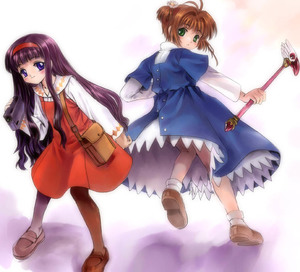 Rating: Safe Score: 0 Tags: brown_hair camera cardcaptor_sakura daidouji_tomoyo fuuin_no_tsue green_eyes hairband kinomoto_sakura loafers long_hair magical_girl mutsuki_(moonknives) pantyhose purple_eyes purple_hair shoes short_hair wand User: DMSchmidt