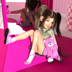Rating: Explicit Score: 28 Tags: 1girl 3dcg anus black_hair flat_chest laura looking_at_viewer photorealistic pussy shoes sitting skinny_lover smile socks stuffed_animal stuffed_toy twin_tails User: fantasy-lover