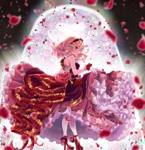 Rating: Safe Score: 0 Tags: 10s 1girl asymmetrical_clothes backlighting bare_arms bare_shoulders blonde_hair blurry blush breasts closed_mouth depth_of_field dress flower frilled_dress frills from_side full_body gloves green_eyes hairband high_heels highres idolmaster idolmaster_cinderella_girls idolmaster_cinderella_girls_starlight_stage layered_dress looking_at_viewer looking_back looking_to_the_side maru_(sara_duke) motion_blur petals petticoat pink_lips profile red_dress red_hairband red_shoes rose rose_petals sakurai_momoka shoes short_hair single_strap skirt_hold small_breasts smile solo stained_glass standing white_gloves white_legwear User: DMSchmidt