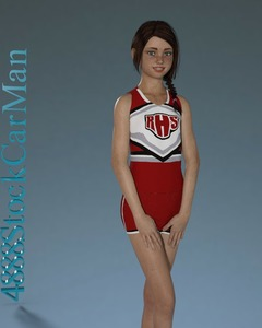 Rating: Questionable Score: 10 Tags: 1girl 3dcg 4888stockcarman braces braid breasts brown_hair cheerleader flat_chest jenny_(4888stockcarman) looking_at_viewer photorealistic pose small_breasts standing teenage User: fantasy-lover