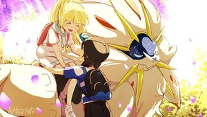 Rating: Safe Score: 0 Tags: 1boy 1girl backpack bag baseball_cap black_hair blonde_hair closed_eyes hat lillie_(pokemon) long_hair natsuno_hamuto open_mouth petals pokemon pokemon_(creature) pokemon_(game) pokemon_sm ponytail shirt short_hair short_sleeves sitting sitting_on_animal skirt solgaleo striped striped_shirt white_shirt white_skirt you_(pokemon_sm) z-ring User: DMSchmidt