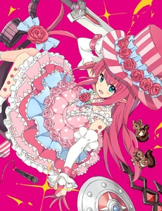 Rating: Safe Score: 1 Tags: 1girl bare_shoulders blue_eyes chipmunk detached_sleeves dress earrings elizabeth_bathory_(fate) elizabeth_bathory_(fate)_(all) fate/extra fate/grand_order fate_(series) flower frilled_dress frills hat hat_flower heart horns jewellery kirarin369 layered_dress long_hair looking_at_viewer microphone pink_background pink_dress pink_hair pink_rose pointy_ears rose shield solo squirrel sword top_hat weapon wrist_cuffs User: DMSchmidt