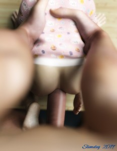 Rating: Explicit Score: 79 Tags: 1boy 1girl 3dcg age_difference anal ass barefoot from_behind hetero highres kneeling nude original penis photorealistic pov shadow slimdog standing toddlercon uncensored User: lalilu1234