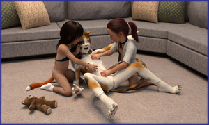 Rating: Explicit Score: 19 Tags: 3dcg 3girls artist_request butt_plug butt_plug_tail cat_girl collar flat_chest kneeling multiple_girls photorealistic smile source_request tagme teddy_bear tickling User: regatta