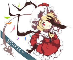 Rating: Safe Score: 0 Tags: 1girl adapted_costume ascot black_gloves blonde_hair character_name covering_one_eye crazy dress elbow_gloves flandre_scarlet frilled_dress frills from_above gloves grin hand_on_own_face hat highres laevatein looking_at_viewer mob_cap neetsr parted_lips puffy_short_sleeves puffy_sleeves red_dress red_eyes short_sleeves side_ponytail smile solo touhou_project white_background white_hat wings yellow_neckwear User: DMSchmidt