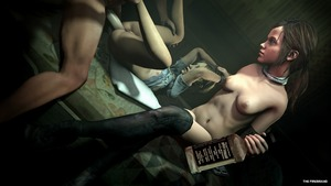 Rating: Explicit Score: 16 Tags: 1boy 2girls 3dcg age_difference anal artist_name ass bed blonde_hair blue_eyes bondage bound_wrists brown_eyes brown_hair collar ellie_(the_last_of_us) head_out_of_frame highres liquor long_hair multiple_girls navel on_bed penis photorealistic ponytail sarah_(the_last_of_us) sex sitting the_firebrand the_last_of_us watching whiskey User: Software