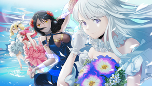 Rating: Safe Score: 1 Tags: 4girls ahoge alternate_costume azur_lane bangs bare_legs bare_shoulders barefoot black_hair blonde_hair blue_dress blue_eyes braid breasts brown_skin cowtits dress dutch_angle eldridge_(azur_lane) enterprise_(azur_lane) flower frilled_dress frills gloves hair_between_eyes hair_flower hair_ornament highres holding holding_flower large_breasts long_hair multiple_girls native_american open_mouth pink_dress purple_eyes red_hair san_diego_(azur_lane) silver_hair small_breasts smile south_dakota_(azur_lane) twin_tails underwater very_long_hair white_dress white_gloves xogml6754 yellow_eyes User: DMSchmidt