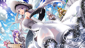 Rating: Safe Score: 0 Tags: 6+girls :d apron azur_lane bangs bare_shoulders belfast_(azur_lane) bird blonde_hair blue_eyes blue_sky blunt_bangs blush breasts character_request closed_mouth cloud cloudy_sky collar cowtits cygnet_(azur_lane) day droplet elbow_gloves flight_deck gloves hair_ornament hand_on_headwear hand_up hat headdress illustrious_(azur_lane) kyon_(fuuran) large_breasts long_hair looking_at_viewer maid maid_headdress metal_collar multiple_girls open_mouth outdoors pink_hair purple_eyes purple_hair queen_elizabeth_(azur_lane) red_eyes sash silver_hair sky smile standing stuffed_animal stuffed_toy stuffed_unicorn suffolk_(azur_lane) sun_hat twin_tails underbust unicorn_(azur_lane) white_gloves white_hat User: DMSchmidt