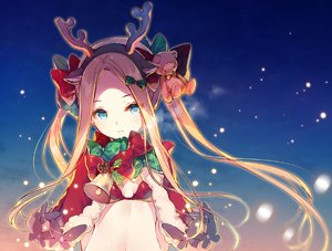 Rating: Safe Score: 0 Tags: 1girl abigail_williams_(fate/grand_order) alternate_costume alternate_hairstyle animal_ears antlers aqua_eyes arms_at_sides bangs bear_hair_ornament bell blonde_hair blue_sky bow breasts breath capelet christmas closed_mouth expressionless fake_animal_ears fate/grand_order fate_(series) forehead fur-trimmed_capelet fur_trim gradient_sky green_bow hair_bow hair_ornament hairband head_tilt light_particles long_hair looking_at_viewer miwabe_sakura navel parted_bangs red_bikini_top red_bow red_capelet reindeer_antlers santa_costume sidelocks sky small_breasts solo twin_tails upper_body User: DMSchmidt