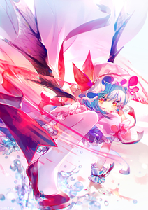 Rating: Safe Score: 0 Tags: 1girl absurdres arm_support artist_name bangs bat_wings blue_hair blurry chromatic_aberration depth_of_field eyebrows_visible_through_hair frills hat hat_ribbon high_heels highres hinasumire holding holding_weapon looking_at_viewer mob_cap nail_polish perspective petticoat puffy_short_sleeves puffy_sleeves pumps red_eyes red_footwear red_nails red_ribbon remilia_scarlet ribbon serious short_hair short_sleeves skirt solo spear_the_gungnir thighhighs touhou_project water weapon white_legwear wings wrist_cuffs User: DMSchmidt